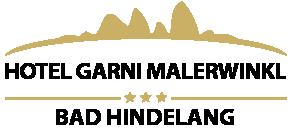 Hotel in Bad Hindelang Hotel Garni Malerwinkl in Bad Hindelang Logo
