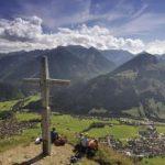 Hinauf auf den Berg in Bad Hindelang