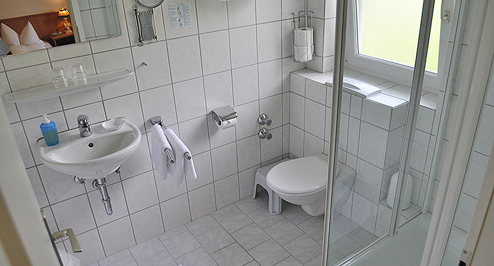 Doppelzimmer im Allgäu in Bad Hindelang