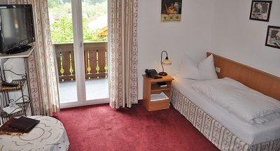Einzelzimmer Hotel Malerwinkl in Bad Hindelang