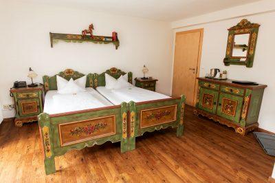 Doppelzimmer Deluxe mit großem Ost- Süd- Eckbalkon